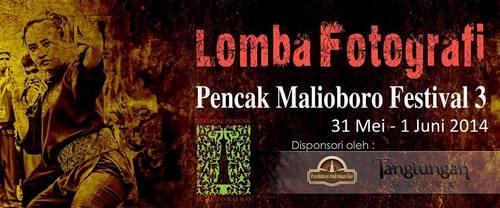 Lomba Fotografi Pencak Malioboro Festival ke-III 2014