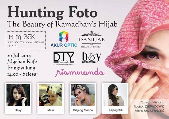 Hunting Foto The Beauty of Ramadhan Hijab