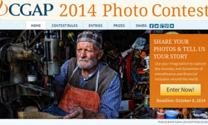 CGAP Photo Contest 2014 (Deadline: 8 Oktober 2014)