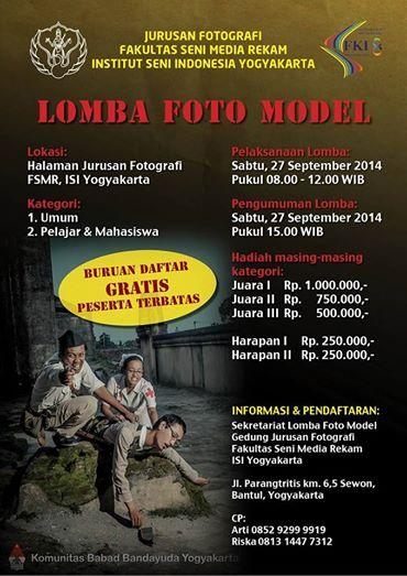 Jurusan Fotografi Fakultas seni media rekam institiut seni indonesia yogyakarta
