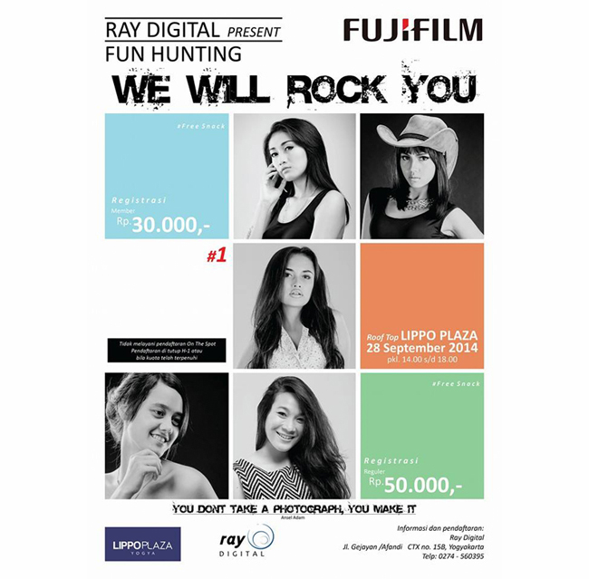 "Ray Digital present fun hunting ""We Will Rock You"""