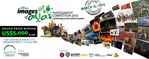 Asian Geographic Annual Travel Photography Competition (Deadline: 15 Maret 2015)