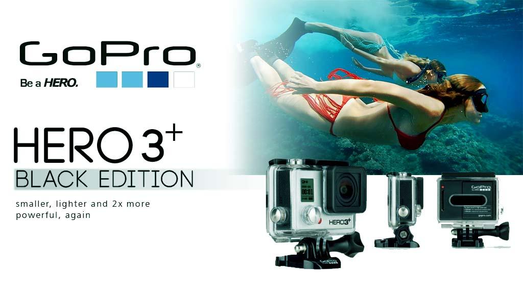 Mari sewa GoPro Hero 3+ di Titikfokus Kamera..berikut review GoPro Hero 3+