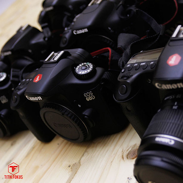 Sewa Canon EOS 60D
