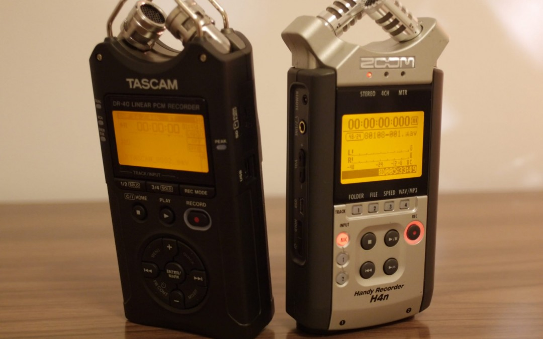 TASCAM DR-40 VS ZOOM H4N