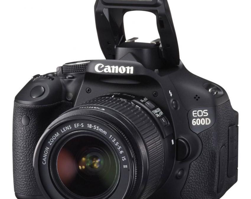 Canon eos 600d kamera pro untuk pemula