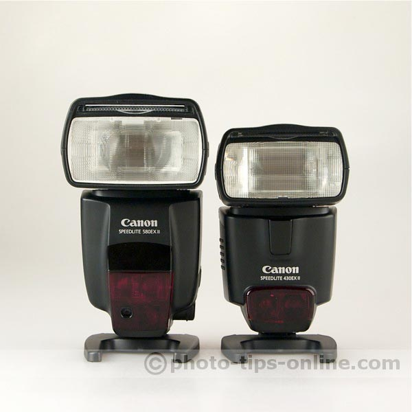 Canon Speedlite 430EX II vs Canon Speedlite 580EX II review