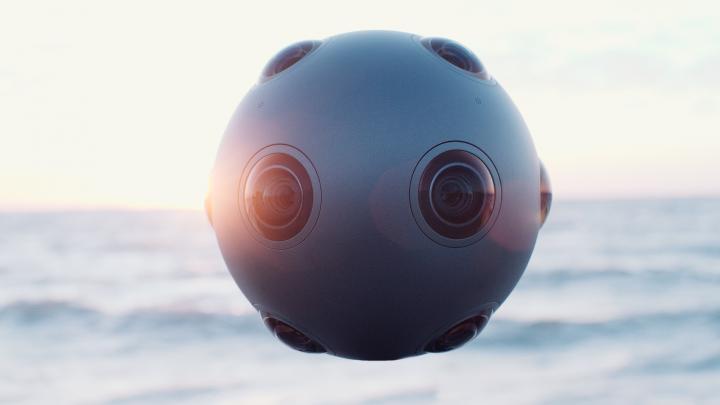 Nokia Virtual Reality Ozo yang Mampu Menangkap Video 360 Derajat