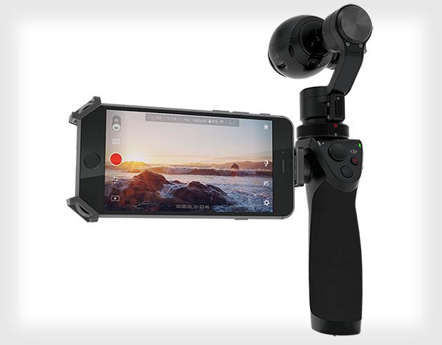 DJI Osmo, Kamera Genggam 12 Megapiksel dengan Kemampuan Merekam Hingga 4K