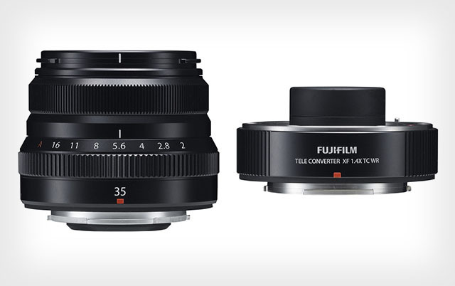 Fujifilm Luncurkan Lensa 35mm f/2 Tahan Cuaca dan Teleconverter 1.4x