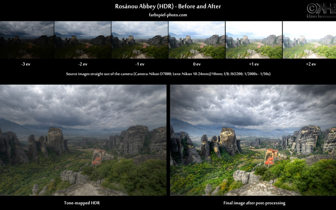 Optimasi landscape dengan HDR