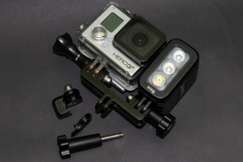 [REVIEW] KNOG QUDOS ACTION LIGHT FOR GOPRO