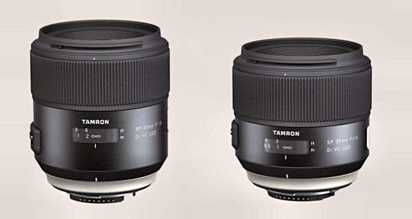 Tamron SP 35mm dan 45mm f/1.8 DI VC USD Review