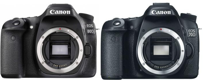 Perbandingan Canon EOS 70D vs Canon EOS 80D