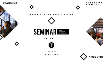 Seminar Video Fashion and Commercial