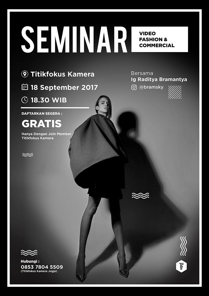 Seminar Video Fashion & Commercial